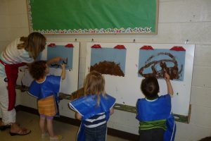 preschool art-room
