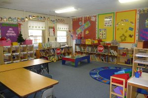 preschool book nook