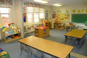 preschool construction zone