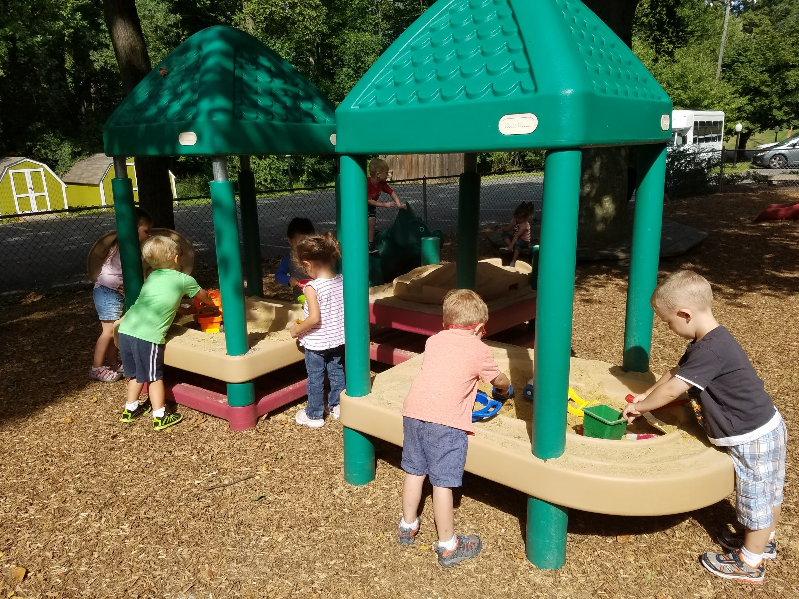 Playground grace presbyterian church for Outdoor gross motor activities for preschoolers