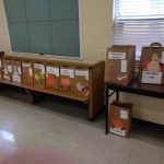 Grace Provides Thanksgiving Baskets to Cameron Elementary Families
